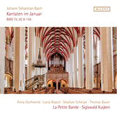 Album artwork for Kantaten im Januar - Kantaten Bwv 72, 92, 156