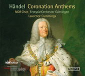 Album artwork for Handel: Coronation Anthems