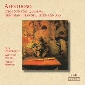 Album artwork for Affetuoso - Oboe Sonatas 1700-1750