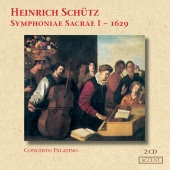 Album artwork for SCHUTZ  SYMPHONIAE SACRAE PALATINO