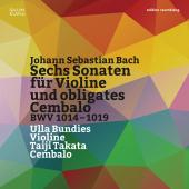 Album artwork for Bach: 6 Sonatas for Violin and Keyboard