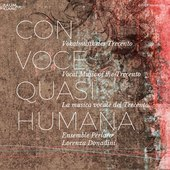 Album artwork for CON VOCE QUASI HUMANA