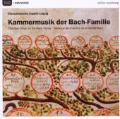 Album artwork for CHAMBER MUSIC BY THE BACH FAMILY