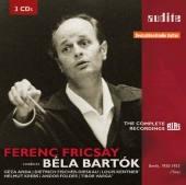 Album artwork for FERENC FRICSAY CONDUCTS BARTOK