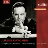 Album artwork for Katchen plays Beethoven, Brahms, Chopin, Schumann