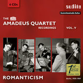 Album artwork for Romanticism: Amadeus Quartet Recordings, Vol. V