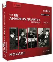 Album artwork for The Amadeus Quartet: Mozart Recordings 1950-1957