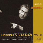 Album artwork for HERBERT VON KARAJAN V8 Beethoven Symph 3&8