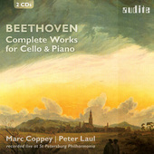 Album artwork for BEETHOVEN: Complete Works for Cello & Piano