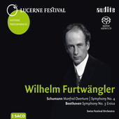 Album artwork for Furtwangler conducts Schumann and Beethoven
