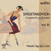 Album artwork for Shostakovich: Complete String Quartets, Vol.3