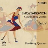 Album artwork for Shostakovich: String Quartets Vol.5 / Mandelring Q