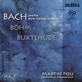 Album artwork for BACH AND THE NORTH GERMAN TRADITION