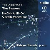 Album artwork for HARADA PLAY TCHAIKOVSKY & RACHMANINOV