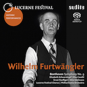 Album artwork for Beethoven: Symphony #9 / Furtwangler, Philharmonia