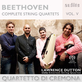 Album artwork for Beethoven: Complete String Quartets, Vol. V