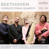Album artwork for Beethoven: Complete String Quartets, Vol. 8