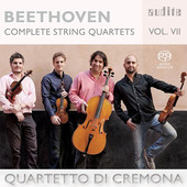 Album artwork for Beethoven: Complete String Quartets, Vol. 7
