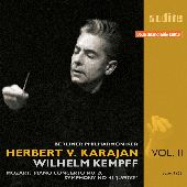 Album artwork for HERBERT VON KARAJAN V2 - Mozart Symph. 40, Piano c