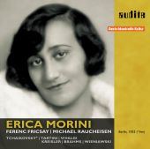 Album artwork for ERICA MORINI PLAYS TCHAIKOVSKY