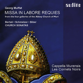 Album artwork for Muffat: Missa in labore requies from the four gall