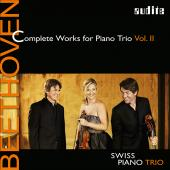 Album artwork for Beethoven: Complete Works for Piano Trio, Vol. 2