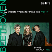 Album artwork for Beethoven: Complete Works for Piano Trio, Vol. 4