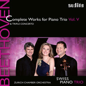 Album artwork for Beethoven: Complete Works for Piano Trio, Vol. 5