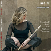 Album artwork for Schulhoff, Raphael, Tansman, etc - Flute Works