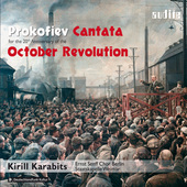 Album artwork for Prokofiev: October Revolution Canatata / Karabits