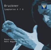 Album artwork for Bruckner: Symphonies 4, 7, 8 / Nagano