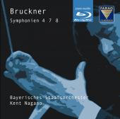 Album artwork for BRUCKNER: SYMPHONIES 4,7,8 (BLURAY AUDIO