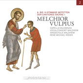 Album artwork for V2: MELCHIOR VULPIUS