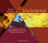 Album artwork for STRING CHAMBER MUSIC