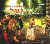 Album artwork for FASCH: CONCERTI & SINFONIAE