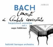 Album artwork for J.S. Bach: Harpsichord Concertos, Vol. 1