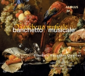 Album artwork for FLANDERS RECORDER QUARTET: BANCHETTO MUSICALE