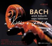 Album artwork for Bach: SONATAS VIOLIN & HARPSICHORD