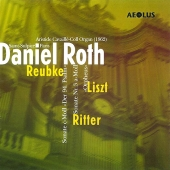Album artwork for DANIEL ROTH PLAYS REUBKE, LISZT & RITTER