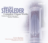 Album artwork for STEIGLEDER: COMPLETE ORGAN WORKS
