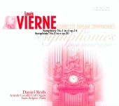 Album artwork for VIERNE - COMPLETE ORGAN SYMPHONIES DANIEL ROTH