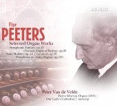 Album artwork for Flor Peeters: Selected Organ Works