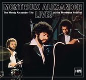 Album artwork for MONTREUX ALEXANDER LIVE