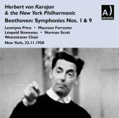 Album artwork for BEETHOVEN: SYMPHONIES 9, 1 & 5
