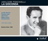 Album artwork for Ponchielli: La Gioconda (1960)