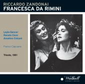 Album artwork for Zandonai: Francesca da Rimini  (Live)