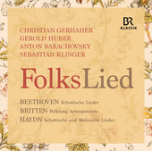 Album artwork for Beethoven, Britten & Haydn: FolksLied (Live)