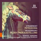Album artwork for Strawinsky: Petruschka; Mussorgsky: Bilder einer A
