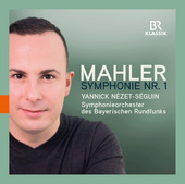 Album artwork for Mahler: Symphony No. 1 in D Major / Nezet-Seguin