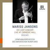 Album artwork for Mariss Jansons - His Last Concert Live at Carnegie